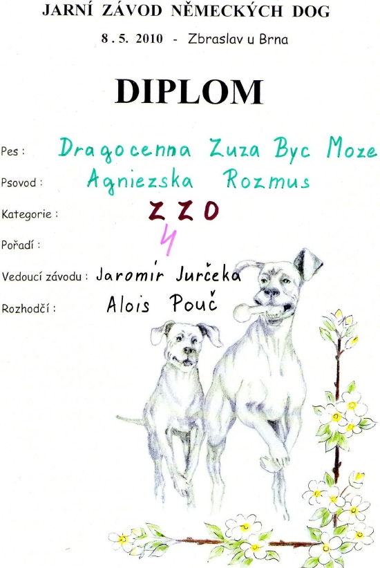 BYć Moze Grat Dane Kennel